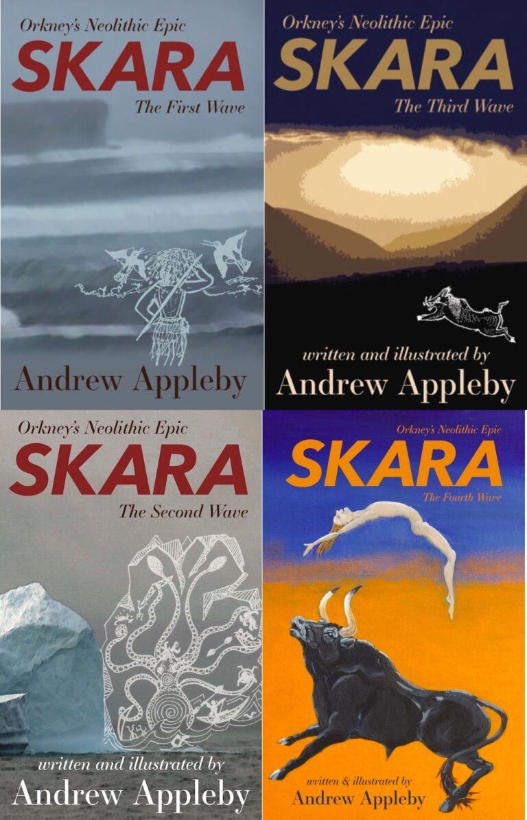 Set of all four Skara novels - Paperback